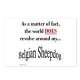 Belgian Sheepdog World Postcards (Package of 8)