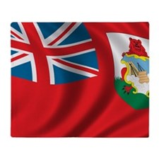 bermuda_flag Throw Blanket