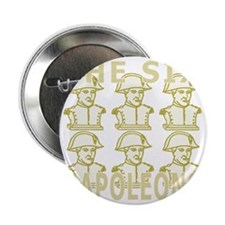 "SixNapoleons_gold 2.25"" Button"