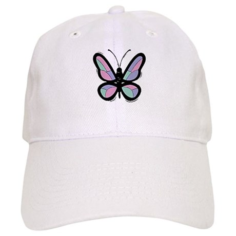 Patchwork Butterfly Cap