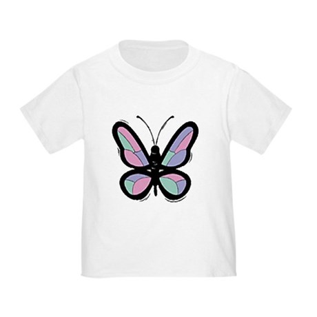 Patchwork Butterfly Toddler T-Shirt