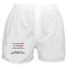 Russian Terrier World Boxer Shorts