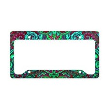 Laptop Neon Funk License Plate Holder
