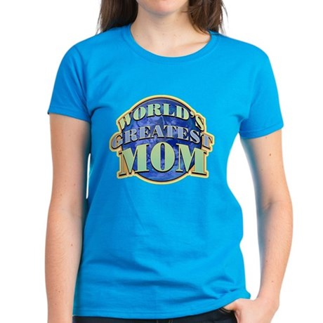 World's Greatest Mom Women's Dark T-Shirt