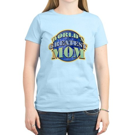 World's Greatest Mom Women's Light T-Shirt