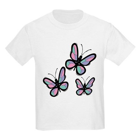Patchwork Butterflies Kids T-Shirt