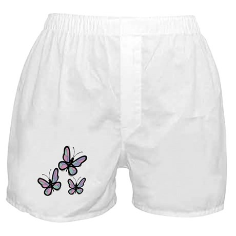 Patchwork Butterflies Boxer Shorts