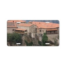 Greece, Meteora. Overview o Aluminum License Plate