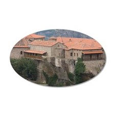 Greece, Meteora. Overview of Wall Decal