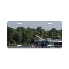Hungary. Danube River view. Aluminum License Plate