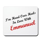 In Love with Emmanuel Mousepad
