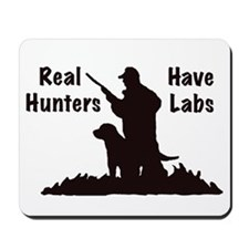 labrador hunting Mousepad