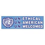 Bumper Sticker: U.N. Ethical