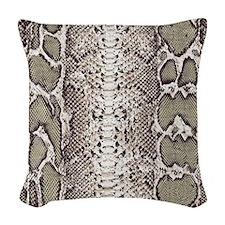 boa3_iPad_vertical.v2 Woven Throw Pillow