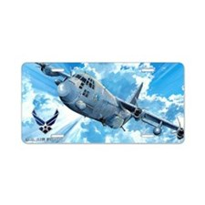 Air Force AC-130 Spectre Aluminum License Plate