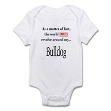 Bulldog World Infant Bodysuit