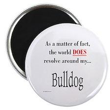 Bulldog World Magnet