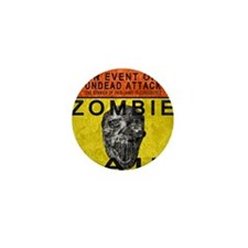 Zombie Bait Label Mini Button