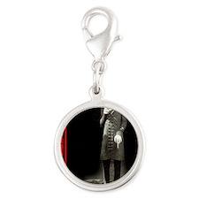 Nosferatu-02 Silver Round Charm