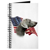 Weimaraner Flag Journal