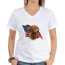 Vizsla Flag Shirt