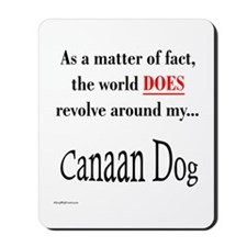 Canaan Dog World Mousepad