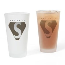 spudman_V2 Drinking Glass
