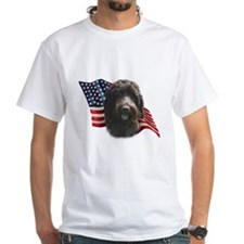 Wirehaired Griffon Flag Shirt