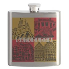 Barcelona_10x10_apparel_AntoniGaudí_RedYell Flask