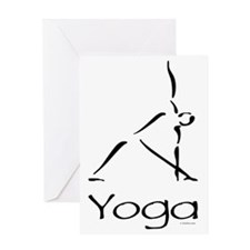 Yoga Pose Greeting Card