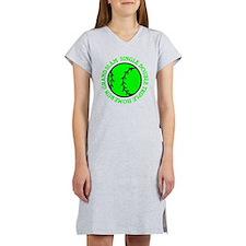 neon green single double triple Women's Nightshirt