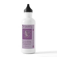 Bravery Journal Water Bottle