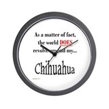 Chihuahuas World Wall Clock