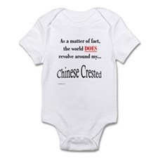 Chinese Crested World Infant Bodysuit