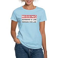 Missing Husband Lab T-Shirt