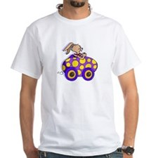 Rabbit Easter Egg Car Shirt