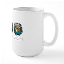 Eat Sleep Football : Blue Mug