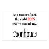 Coonhound World Postcards (Package of 8)