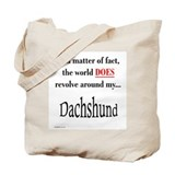 Dachshund World Tote Bag