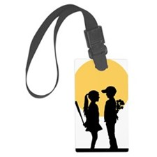 lover girl3 Luggage Tag