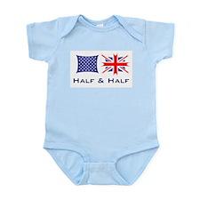 Half and half Infant Creeper