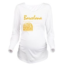 Barcelona_7x7_appare Long Sleeve Maternity T-Shirt