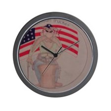 American Trucker Wall Clock