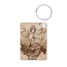 Seafloor Mermaid_Cafepress Keychains