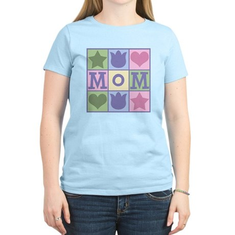 Fun Mom Quilt Squares Women's Light T-Shirt