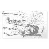Streak27 Rectangle Decal
