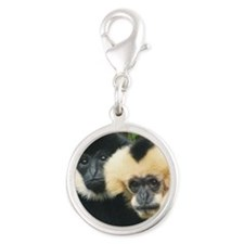 gibbons Silver Round Charm