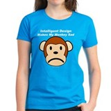 Intelligent Design Makes My Monkey Sad Tee