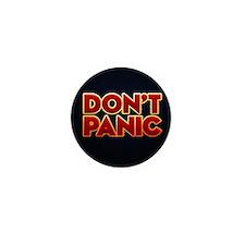 dont panic Mini Button