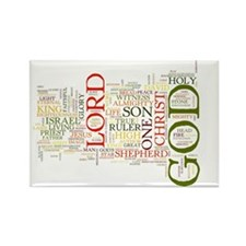 Names of God2 Rectangle Magnet